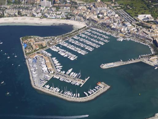 Vista del Port de Alcúdia.