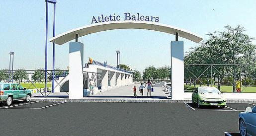 Recreación virtual del proyecto de la ciudad deportiva,
