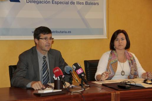 Arnau Cañellas y Margarita Hernández, en una imagen de archivo.
