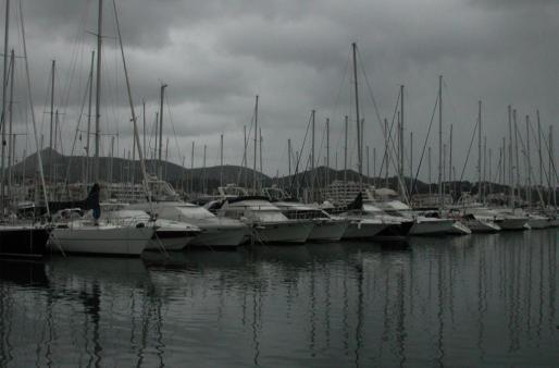 Instalaciones del puerto Alcudiamar.