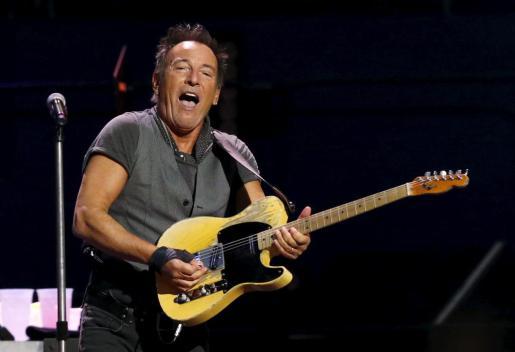 Bruce Springsteen durante un concierto en Los Angeles el pasado 17 de marzo.