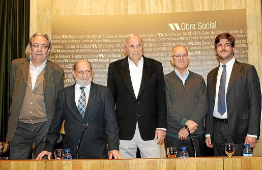 Joan Martorell, Abraham Barchilón, Julián Delgado, Sebastià Serra y Dominik Stauffenberg.
