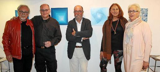 Ferran Pereyra, Toni Forteza, Joan Pereyra, Marga Forteza y Margalida Martorell.