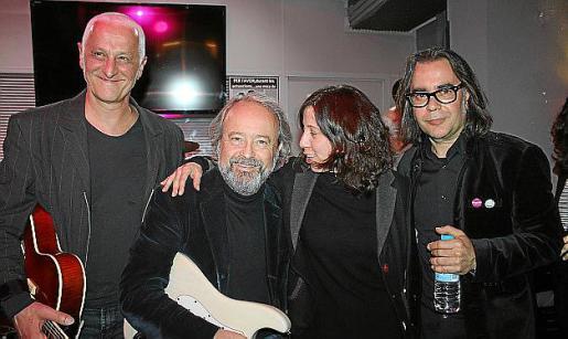 Joan Carles Palou, Iván Tobías, Esther Mas y Pepo Granero.