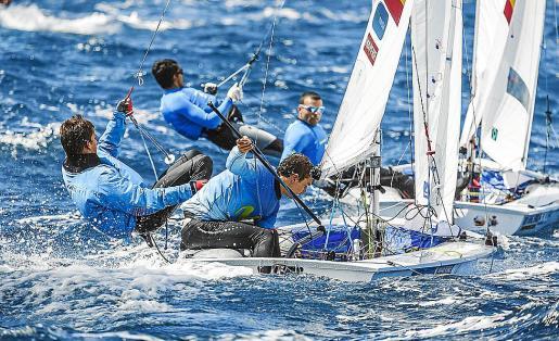 Xammar y Herp lograron este lunes el billete olímpico y el pase a las Medal Race