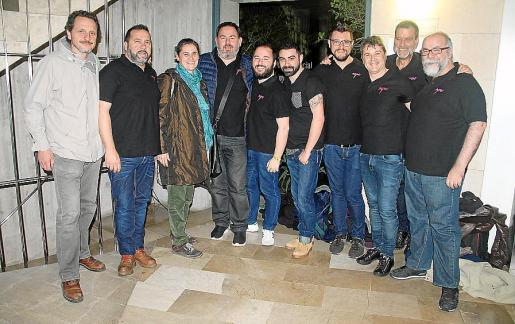 Carles Planisi, Bernat Reus, Elena Inglada, Joan Lainez, David Usero, Alberto Ontivero, Albert Ferrer, Juan Livon, Javier Bordone y Johnny Ramírez.