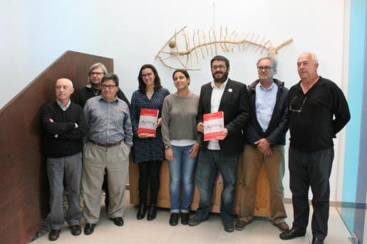 El conseller Vicenç Vidal ha acudido este martes a la presentación del Libro Rojo de los Peces de las Illes Balears.