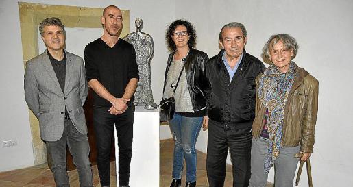 Llorenç Carreras, Antoni Miquel Morro, Antònia Jordà, Guillem Morro y Dorothy Schäfer.