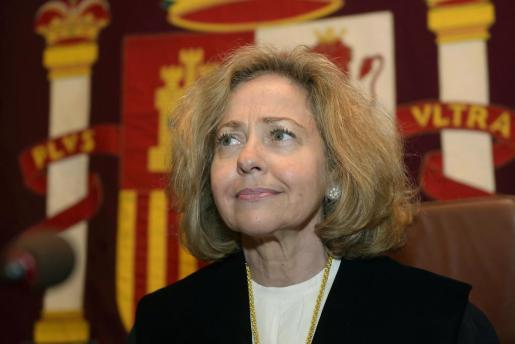 La fiscal general del Estado, Consuelo Madrigal.