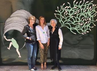 """Olimpia Velasco estrena el nuevo espacio de la galería Lluc Fluxà con """"Plan de vuelo"""""""