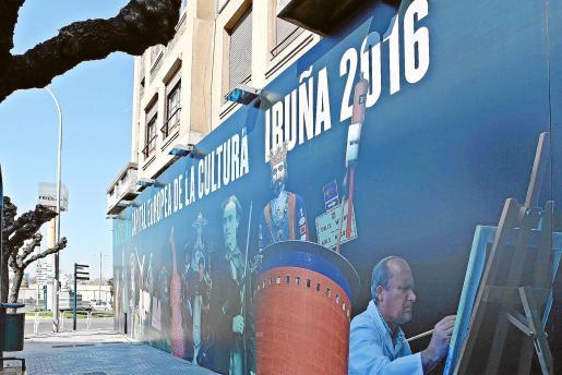 Las ciudades que compiten con Palma, caso de Pamplona, llevan meses publicitando su candidatura.