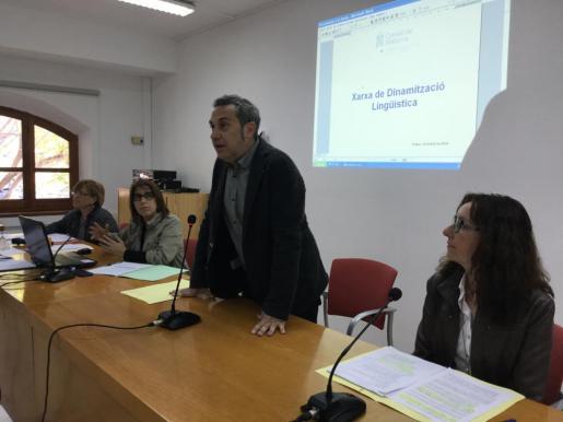 Momento de la presentación de la Red de Normalización Lingüística.