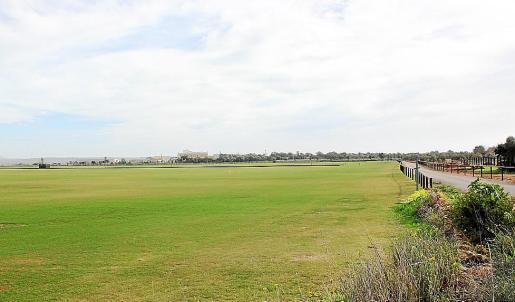 En sa Barralina ya existen dos campos para la práctica del polo.