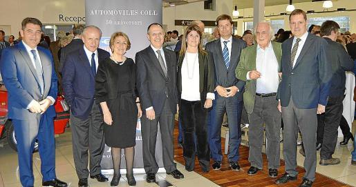 Mario Méndez, Jorge Tomé, Coloma Coll, José Vizoso, Elena Sala, Jaime Piedrola, Raúl Suárez y Agustí García.