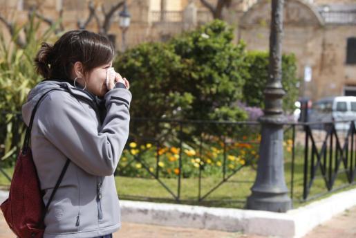 Balears se enfrenta a «una primavera de intensidad leve con concentración de polen de parietaria y gramíneas» por lo que hay ciudadanos que podrían sufrir alergia ocular.