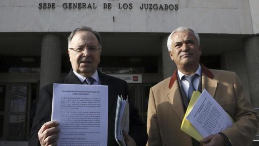 Miguel Bernard y Luis Pineda, en una imagen de archivo.