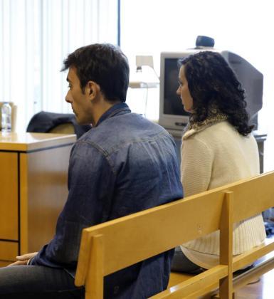 Momento del juicio que se sigue en la Audiencia Provincial de Madrid contra Lorena Gallego, acusada junto a su cómplice, Iván Trepiana, de intentar matar a la mujer deleriodista Paco González.