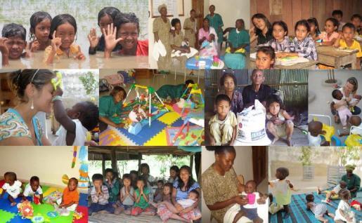 La Fundación UNES se dedica a luchar contra el abandono infantil.