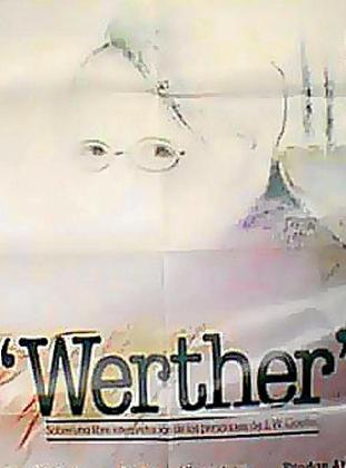 Cartel de la cinta 'Werther', de Pilar Miró.