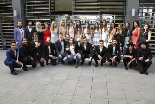 Participantes en la gala Play Awards.