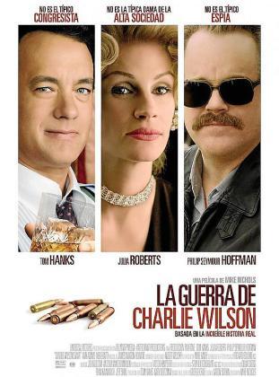 Cartel de la película 'La guerra de Charlie Wilson'.