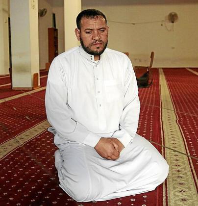 Said Ed Derqaoui, imán de una mezquita de Son Gotleu, este viernes en Palma.
