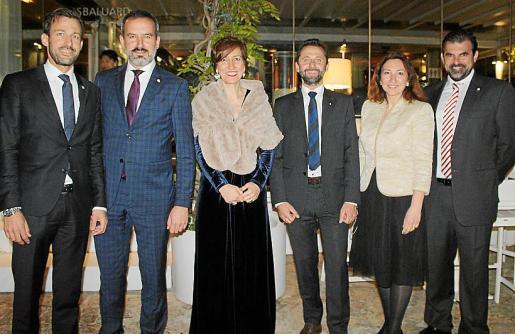 Michael Pachinger, Fernando Lozano, Mercedes Aguado, Georg Beham, Ana de Timoteo y Carlos Anglada.