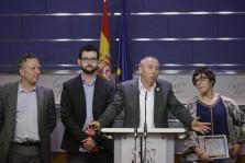 BALDOVÍ PRESENTA AL REY PROPUESTA DE PACTO DE MÍNIMOS PARA UN NUEVO GOBIERNO