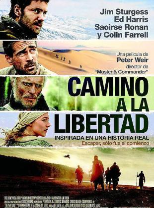Cartel de la película 'Camino a la libertad'.