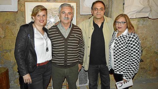 Marta Murgades, Rafael Velasco, Miquel Segura y Antònia Segura.