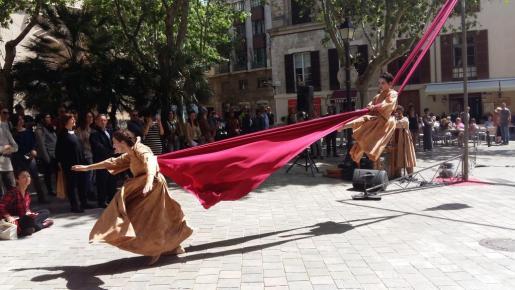 Espectáculo 'Makam', de la compañía Fil de So, que ha dado el 'sus' al ciclo de 'Palma amb la Dansa'.