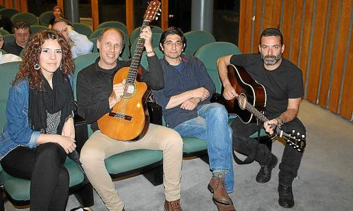 Marta Elka, Toni Pastor, Pep Toni Brotons y Jaume Anglada.