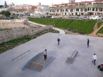 Imagen del parque de sa Sínia Costabella, en Maó.