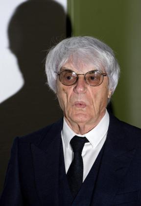 El patrón de la Fórmula Uno, Bernie Ecclestone.