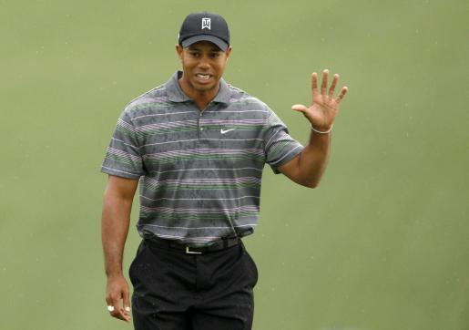 Tiger Woods durante una jornada del pasado Masters de Augusta.