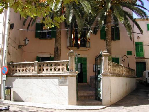 Situación del ayuntamiento de Bunyola.