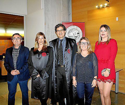 José Antonio Egea, Patricia Vadillo, Miquel À. Mas, Joana M. Busquets y Antonia Seguí.
