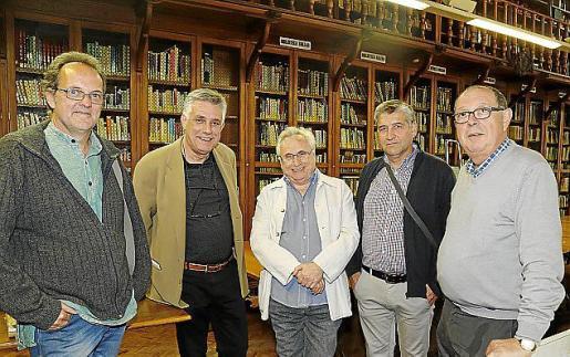 Miquel Àngel Llauger, Marcel Riera, Guillem Frontera, Miquel Àngel Vidal y Àngel Terron.