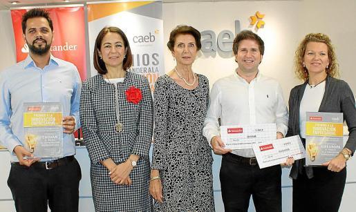 Carlos Vidal, María José Maciá, Carmen Planas, Magí Prats y Rosa Nordfeldt.