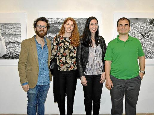 Félix Coll, Marta Pujades, Marisol Salanova y Gabriel Rul·lan.