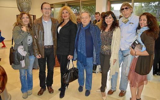 Sandra Renzi, Tito López, Sedi Behvarrad, José Luis Ardura, Maria Rosa Fornés, Miquel Martorell y Mónica Motta.