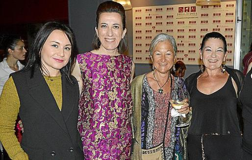 Lidia Carapetoga, Arianna Romano, Tamara Malloggi y Viola Banti.