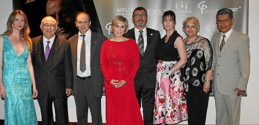 Francina Galmés, Tomeu Català, José García Peñálvez, Vanessa H. Rado, Jesús Mullor, Amparo Vidal, Elena Gayán y Lino Salas.