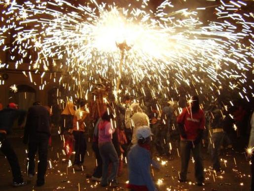Los Dimonis de Hiachat (Santa Margalida) apadrinarán la nueva 'colla' de Maria.