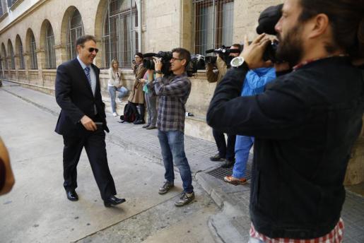 El titular del Juzgado de Instrucción número 12 de Palma, Manuel Penalva, en una imagen de archivo.