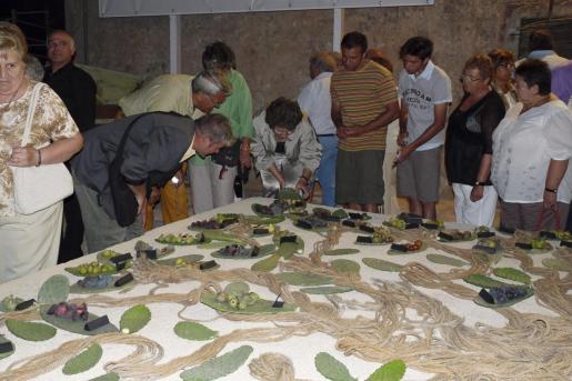 En la Festa des Sequer se han llegado a exponer unas cien variedades distintas de higos.
