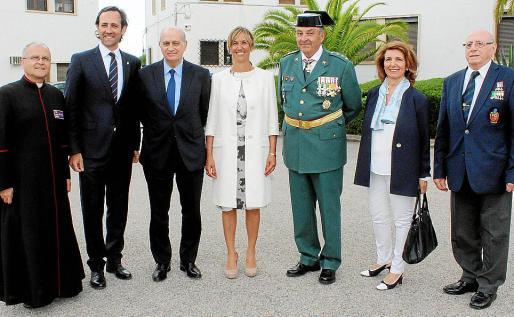Manuel Redondo, José Ramón Bauzá, Jorge Fernández Díaz, Teresa Palmer, Jaime Barceló, Montse Lezaun y Pedro Fernández.