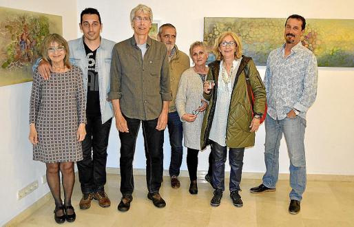 Francisca Fernández, Manuel Rubio, Xisco Rubio, Xavier Fortuny, Laura Jariego, Esther Olondriz y Jordi Canyellas.