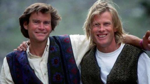 Alex Lowe y David Bridges, en una imagen del pasado.