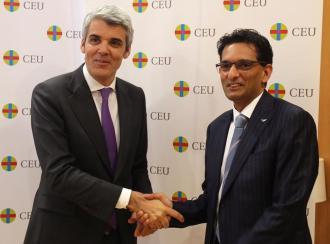 El CEU y CCL firman un acuerdo para la formación en liderazgo